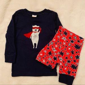 Gymboree 2T Superhero pajamas